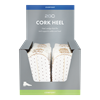 2GO Cork Heel (White)