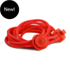 2GO Silicone Quicklace 951 Red 120 cm